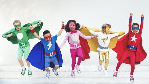 """<span class=""""attribution""""><a class=""""link rapid-noclick-resp"""" href=""""https://www.shutterstock.com/image-photo/superheroes-kids-friends-playing-togetherness-fun-422791240"""" rel=""""nofollow noopener"""" target=""""_blank"""" data-ylk=""""slk:Rawpixel.com/Shutterstock"""">Rawpixel.com/Shutterstock</a></span>"""