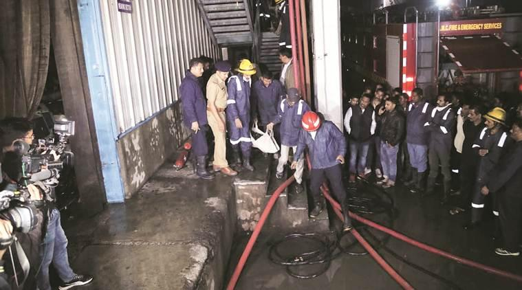 Ahmedabad fire, denim factory fire, workers die in fire, Ahmedabad news, gujarat news, indian express news