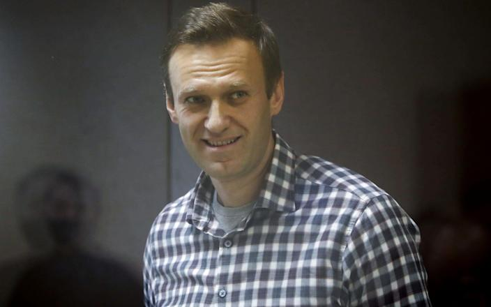 Russian opposition figurehead Alexei Navalny, who was arrested in January - Reuters