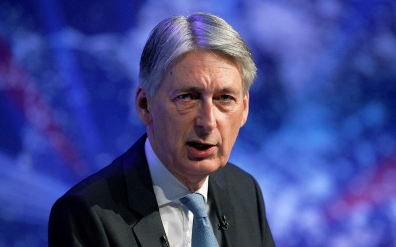 Chancellor of the Exchequer Philip Hammond - AFP