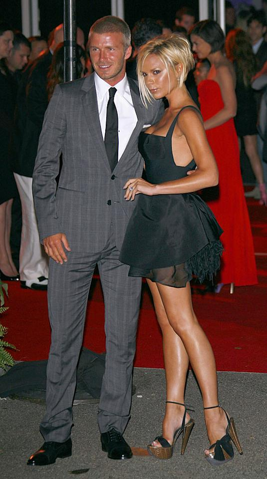 """Posh's feet must have been killing her by the end of the night! Jean Baptiste Lacroix/<a href=""""http://www.wireimage.com"""" target=""""new"""">WireImage.com</a> - July 22, 2007"""