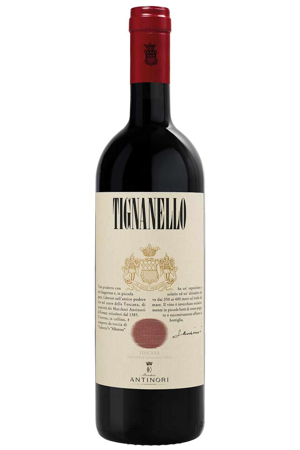 """<p>wine.com</p><p><strong>$134.99</strong></p><p><a href=""""https://go.redirectingat.com?id=74968X1596630&url=https%3A%2F%2Fwww.wine.com%2Fproduct%2Fantinori-tignanello-2016%2F524239&sref=https%3A%2F%2Fwww.townandcountrymag.com%2Fleisure%2Fdrinks%2Fg32392235%2Fbest-red-wine%2F"""" rel=""""nofollow noopener"""" target=""""_blank"""" data-ylk=""""slk:Shop Now"""" class=""""link rapid-noclick-resp"""">Shop Now</a></p><p>Wine.com Director of Education Gwendolyn Osborn recommends this Tignanello from Tuscany's oldest winemaking family, the Antinoris. """"It's a classic that demonstrates the growth of Tuscany over the past 50 years, blending a sense of tradition with innovation,"""" she says.</p>"""
