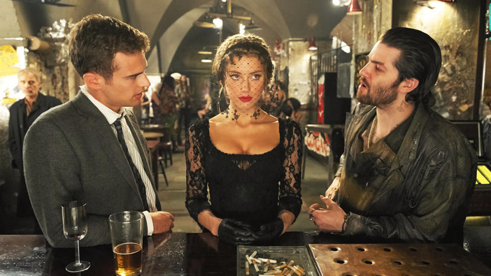 'London Fields' was delayed due to lawsuits for many years. (Credit: GVN Releasing)