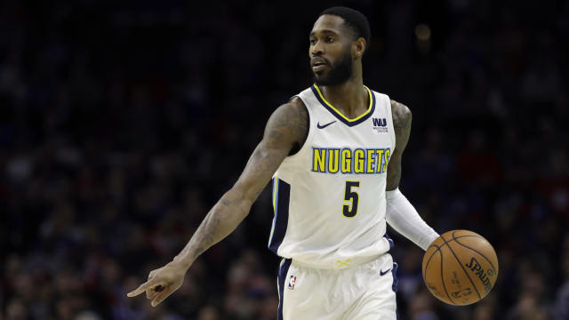 Nuggets guard Will Barton has filled in admirably in Gary Harris' absence. (AP)