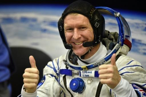 First Briton to travel to ISS blasts off into space