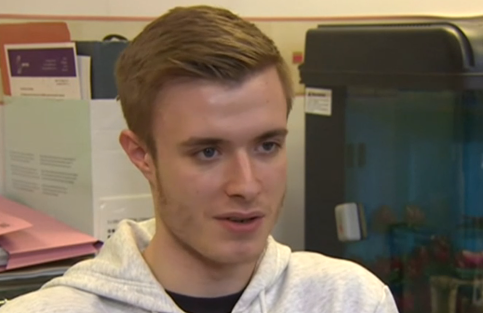 The case against Liam Allan was kicked out (Picture: BBC)