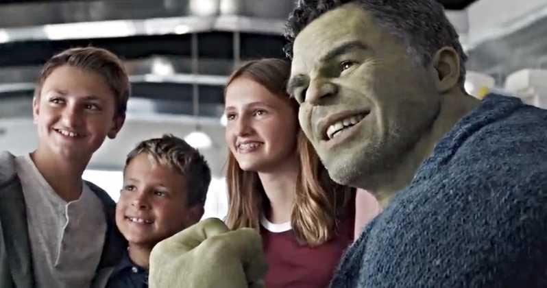 Anthony Russo's son nephew and niece appeared in this scene Avengers Endgame