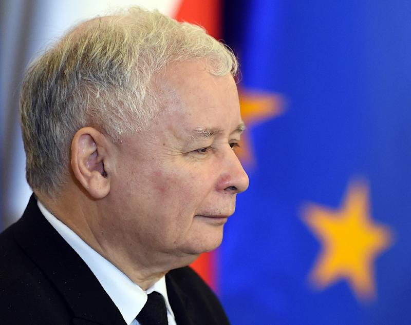 Leader of PiS (Law and Justice) party Jaroslaw Kaczynski says Poland will not bow to Brussels