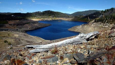 FILE PHOTO: File photo of Tooma Reservoir, part of the Snowy Mountains Hydro Electric Scheme, south west of Canberra