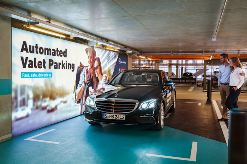 Mercedes Cars Now Have Fully Automated Driverless Parking After Germany Okays Trials