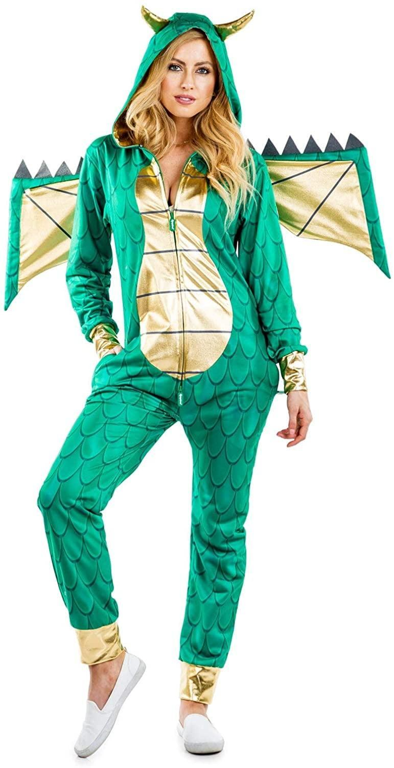 <p>This <span>Tipsy Elves Dragon Costume</span> ($75) is funny and comfortable.</p>