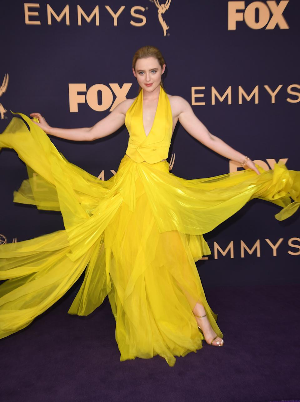 """<h1 class=""""title"""">Kathryn Newton in Ralph Lauren Collection</h1><cite class=""""credit"""">Photo: Getty Images</cite>"""
