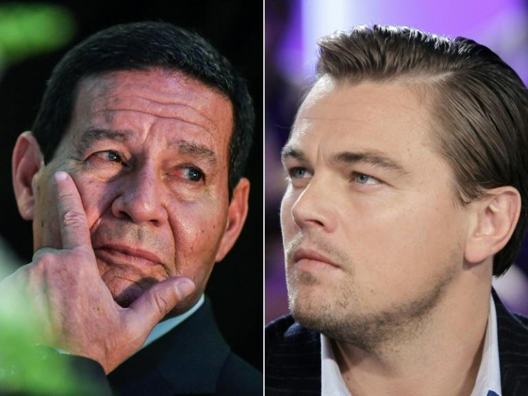 Brazil VP challenges DiCaprio to a hike in the jungle
