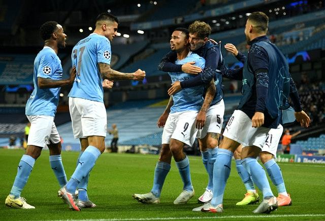 City beat Real Madrid to reach the last eight