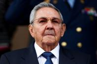 FILE PHOTO: Cuba's President Raul Castro attends to an ALBA alliance summit in Caracas