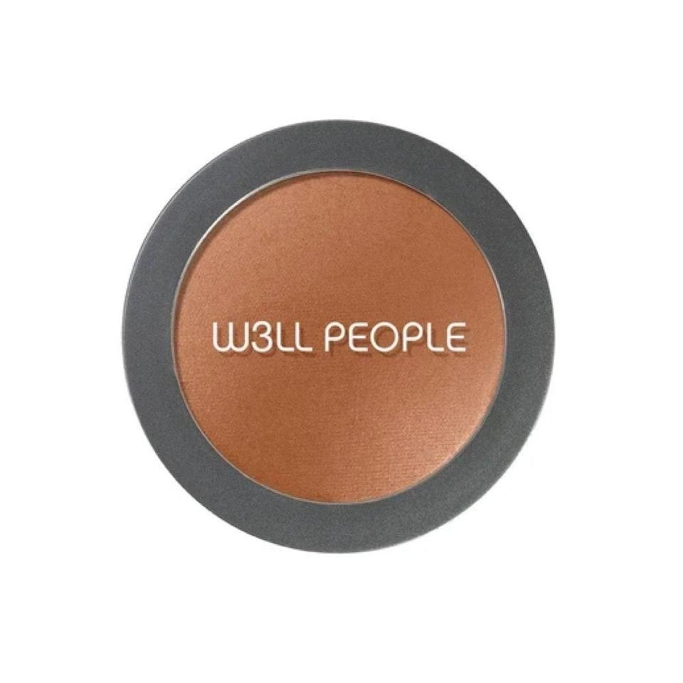 """In the market for a clean, vegan, cruelty-free bronzer? This matte-finish option quickly proved its worth and claimed its spot in my makeup bag because of the smooth, buildable coverage. It also gives off a subtle glowing finish—minus the sparkle, which can be so hard to come by. For a radiant finish, apply with a soft <a href=""""https://shop-links.co/1720982069011415757"""" rel=""""nofollow noopener"""" target=""""_blank"""" data-ylk=""""slk:powder brush"""" class=""""link rapid-noclick-resp"""">powder brush</a> and go to town. $20, w3ll people. <a href=""""https://shop-links.co/1720901252062145188"""" rel=""""nofollow noopener"""" target=""""_blank"""" data-ylk=""""slk:Get it now!"""" class=""""link rapid-noclick-resp"""">Get it now!</a>"""