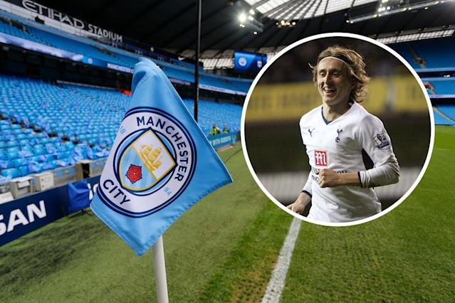 Luka Modric could have been a Man City player, only for their former owner's money to be frozen