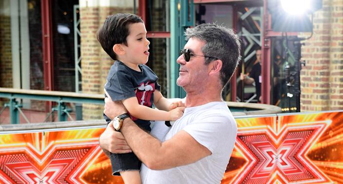 Simon Cowell Shares Heartwarming Letter From 6 Year Old Son