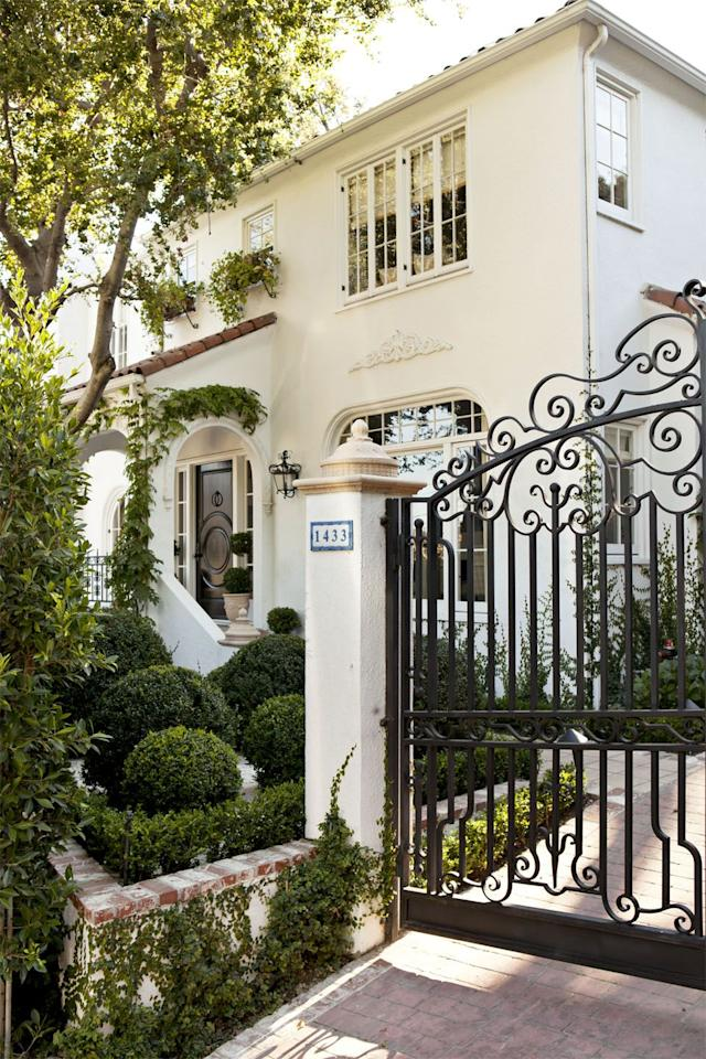 "<p><strong>The Style Guide: </strong><a href=""https://markdsikes.com/"" target=""_blank"">Mark D. Sikes</a> designed the custom gate to the driveway of his 1920s West Hollywood house. We love the look of the ivy crawling up the column bordering the wrought-iron gate, which adds to the charm of the brick paver driveway. </p><p><strong>The Practical Need-to-Know:</strong> Brick driveway pavers are a great option for a more traditional, romantic, and lived-in look. They're more stain resistant than concrete and also more abrasive, which makes them less slippery. But you want to make sure you choose brick pavers instead of traditional clay bricks, which can't handle as much weight. There are also specific codes depending on your region's environmental challenges (looking at you, earthquakes). </p>"