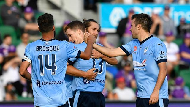 The Sky Blues have set a new A-League points record and claimed the club's first trophy since 2010 but their coach insists they won't stop