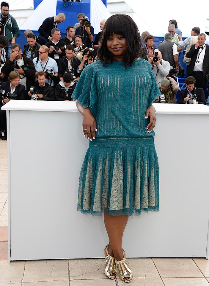 CANNES, FRANCE - MAY 16:  Actress Octavia Spencer attends the 'Fruitvale Station' Photocall during the 66th Annual Cannes Film Festival at the Palais des Festivals on May 16, 2013 in Cannes, France.  (Photo by Pascal Le Segretain/Getty Images)