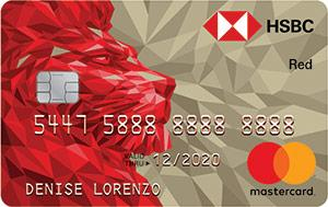 Rewards Credit Cards - HSBC Red Mastercard