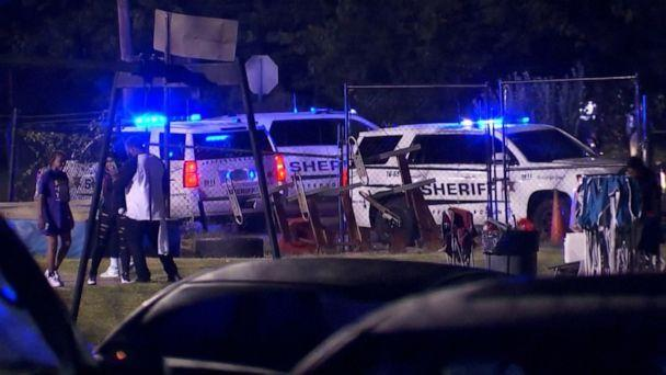PHOTO: Authorities said one person was wounded after shots were fired outside a high school football stadium in Jefferson County, Alabama, on Sept. 24, 2021. (WBMA )