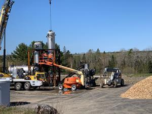 AEG's second CoalSwitch production facility is underway in Ashland, Maine.