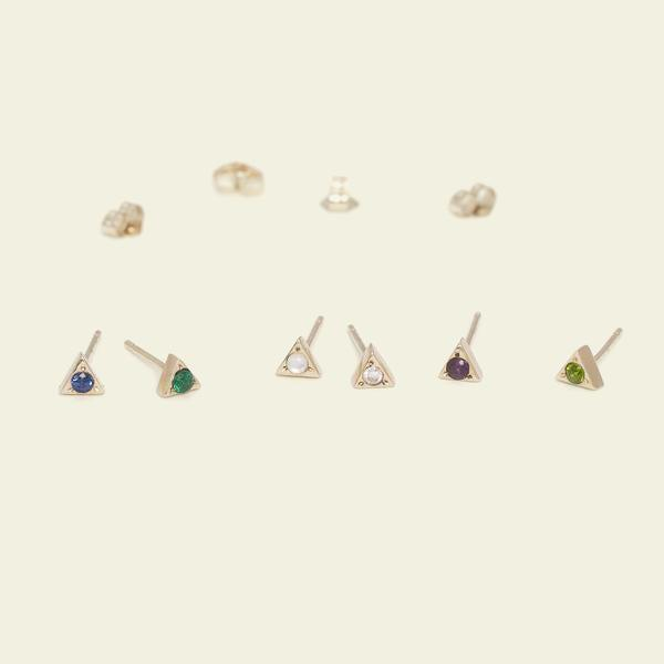 """<h3>Erica Weiner Acrostic Alphabet Stud<br></h3> <br>Erica Weiner's single acrostic earrings can be customized with 26 different gems, each representing a letter of the alphabet. Spell out as much or as little as you want. <br><br><em>Shop <strong><a href=""""https://ericaweiner.com/"""" rel=""""nofollow noopener"""" target=""""_blank"""" data-ylk=""""slk:Erica Weiner"""" class=""""link rapid-noclick-resp"""">Erica Weiner</a></strong></em><br><br><strong>Erica Weiner</strong> Acrostic Alphabet Single Stud, $, available at <a href=""""https://go.skimresources.com/?id=30283X879131&url=https%3A%2F%2Fericaweiner.com%2Fcollections%2Few-originals%2Fproducts%2Facrostic-solo-studs"""" rel=""""nofollow noopener"""" target=""""_blank"""" data-ylk=""""slk:Erica Weiner"""" class=""""link rapid-noclick-resp"""">Erica Weiner</a><br><br><br>"""