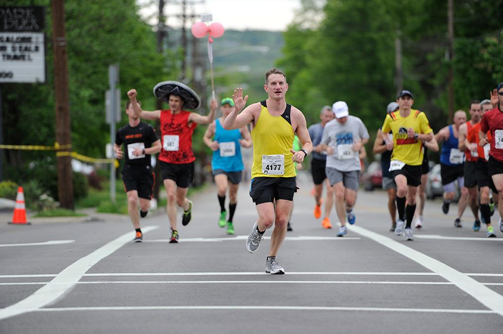 <p>When I started running marathons. I didn't know anything about nutrition during training. I ran only with water. I didn't carry energy gels or sports drinks or anything like that. Now I just shake my head at that younger me. I don't know how I did it!</p><p><i>—Jeff Williams, 41, Cincinnati, Ohio. Finisher of 25 marathons, including four Boston Marathons; personal record of 3:07:40 at the Flying Pig Marathon in Cincinnati.</i></p>