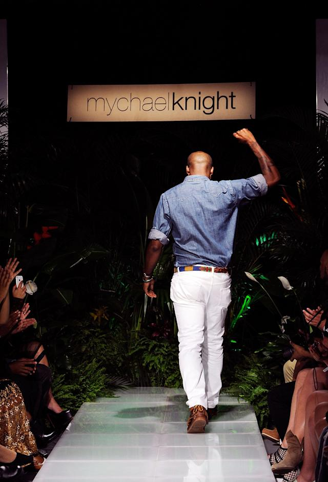 The Mychael Knight Spring 2012 presentation during Mercedes-Benz Fashion Week in 2011. (Photo: Getty Images)