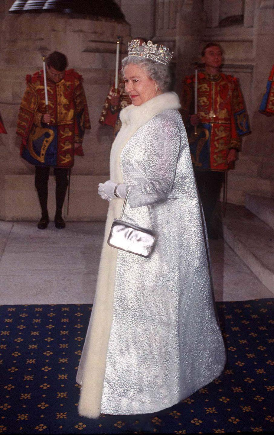 <p>What, you thought the Queen could be outdone? Please. Even in the statement coat department, she's enjoyed a long, uninterrupted reign.<br></p>