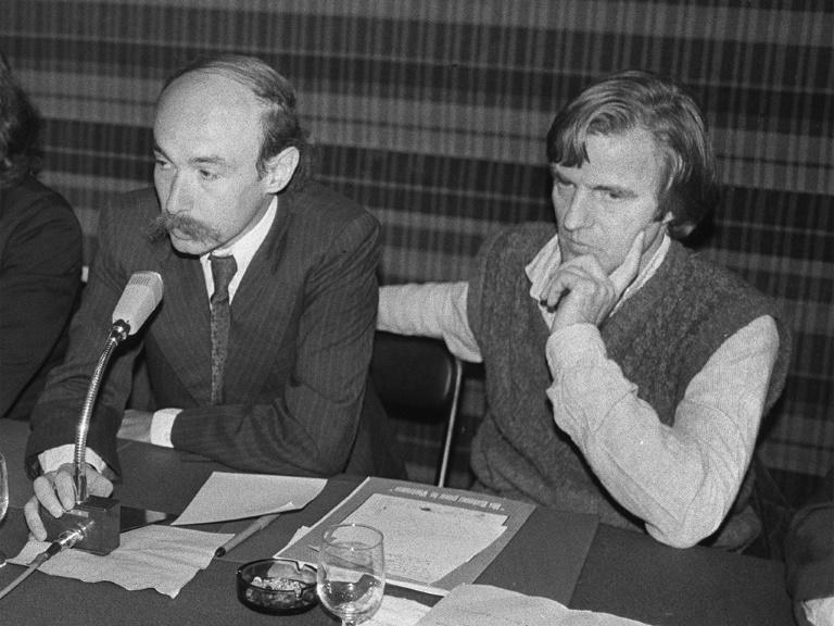 MSF grew out of the ideals of young doctors like Claude Malhuret (L) and cofounder Bernard Kouchner who wanted to be able to treat the needy anywhere in the world