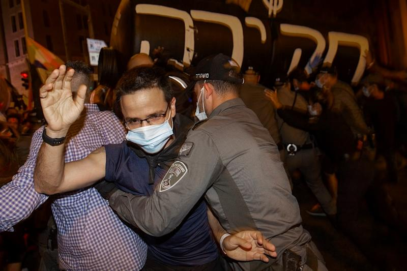 Thousands of Israelis Protest Against PM Benjamin Netanyahu as Covid-19 Infections Continue to Spike