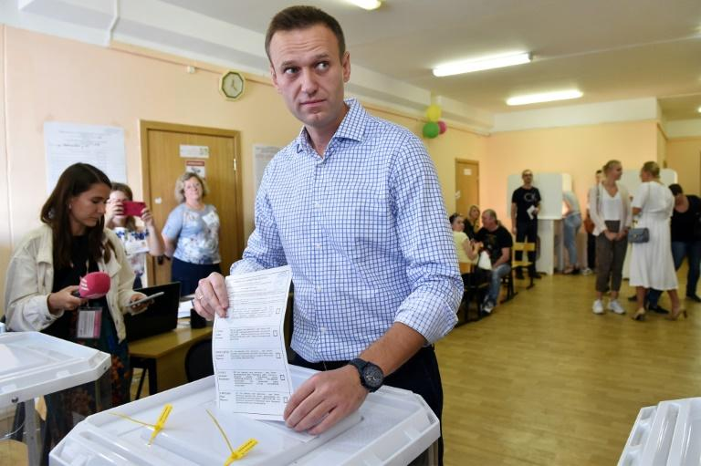 "Russian opposition activist Alexei Navalny set up a ""smart voting"" list which saw 20 candidates win"