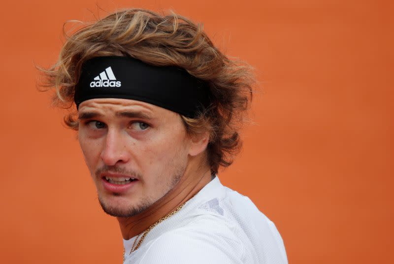Zverev plays with fever and cough in French Open defeat