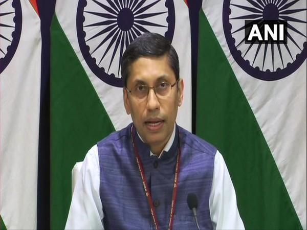 Ministry of External Affairs (MEA) spokesperson Arindam Bagchi during a weekly press briefing.