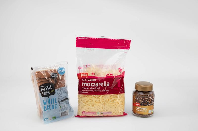 Coles top home brand products