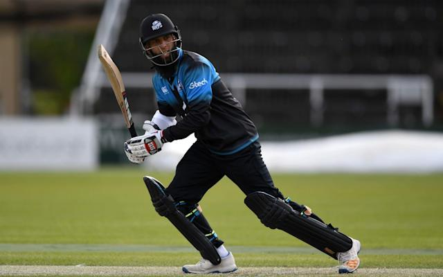 Moeen Ali in one-day action for Worcestershire - Getty Images Europe