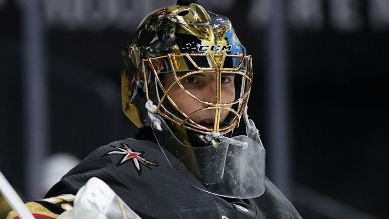 Marc-Andre Fleury's agent jabs Golden Knights on Twitter, and NHL pundits have jokes