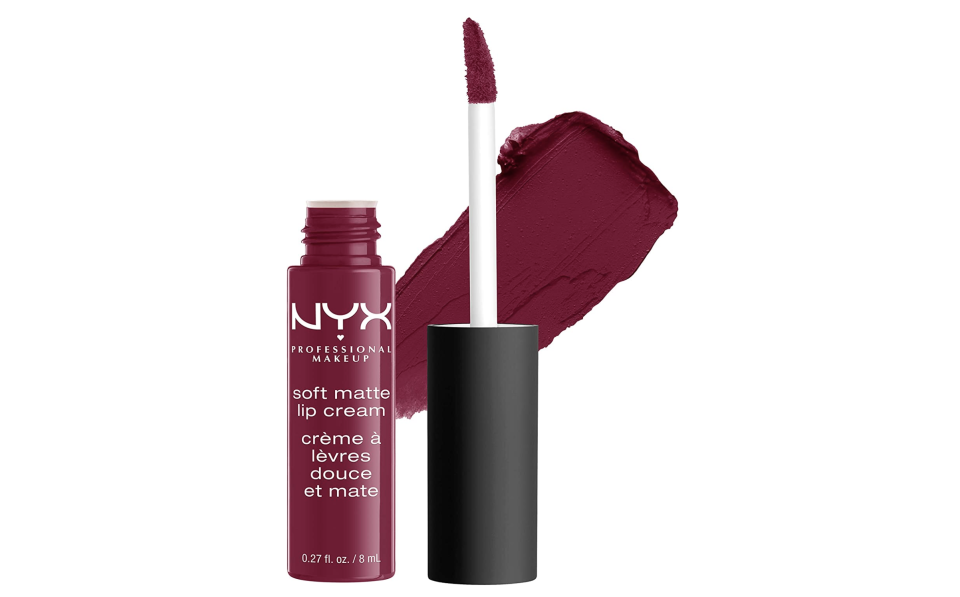 Labial mate, Soft Matte Lip Cream, Nyx Professional Makeup. Foto: amazon.com.mx