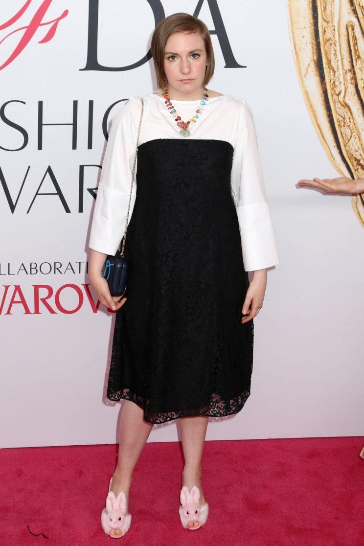 <i>The actress has become renowned for having fun with fashion [Photo: PA]</i>