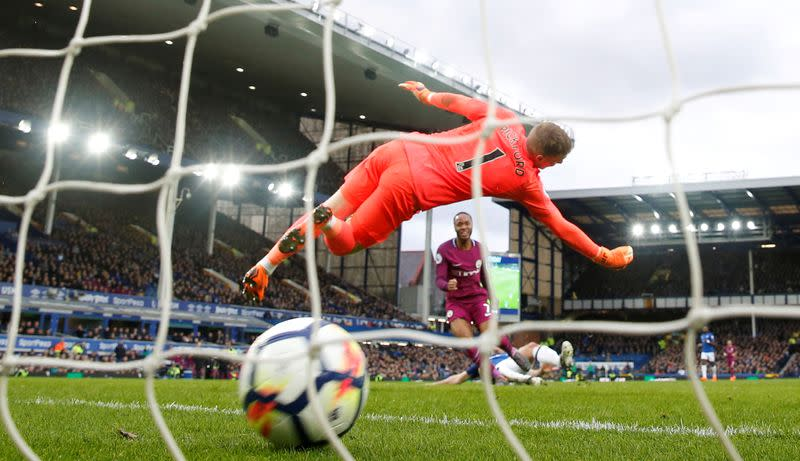 Premier League - Everton vs Manchester City
