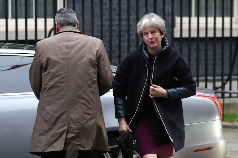 British Prime Minister Theresa May is reshuffling her cabinet, a move sparked by the sacking of her deputy last month (AFP Photo/Daniel LEAL-OLIVAS)
