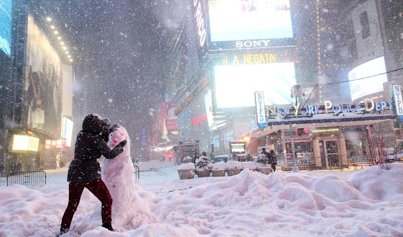 Blizzard 2016: How Much Snow Did New York City Get During Winter Storm Jonas?