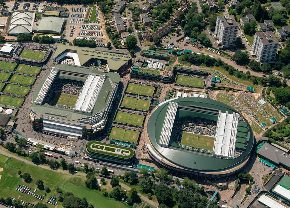 <p>The 42-acre site at Wimbledon will increase by 73 acres</p> (AFP via Getty Images)