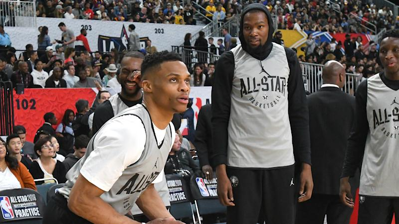 Kevin Durant admits he created a beef with Russell Westbrook in his head