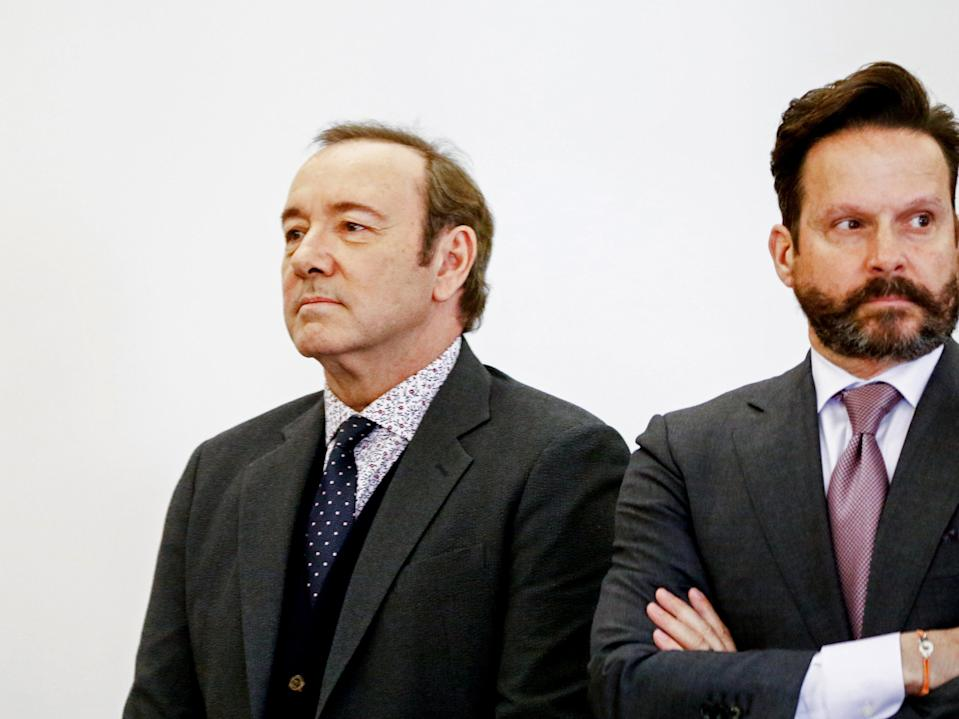 <p>Kevin Spacey reportedly broke into 'song-and-dance number' during sexual assault arbitration</p> (Getty Images)