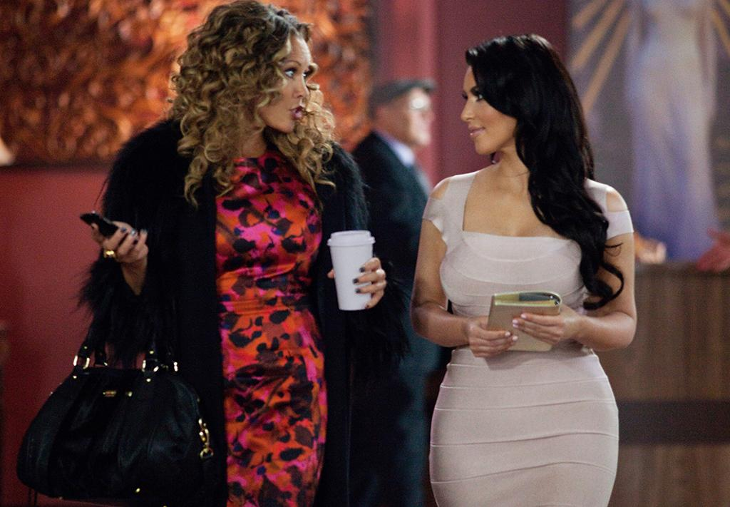 "<b>Miss: Ava (Kim Kardashian) in '<a href=""http://movies.yahoo.com/movie/tyler-perrys-temptation/"">Temptation: Confessions of a Marriage Counselor</a>'</b><br /><br /> We're not sure why Kim Kardashian was cast in Tyler Perry's cinematic deconstruction of adultery other than the fact that maybe the producers thought she would bring some eye candy to the proceedings, but the professional celebrity ended up being a major distraction with her ridiculous outfits and complete lack of acting ability; indeed, the <a href=""http://www.villagevoice.com/2013-03-27/film/tyler-perry-is-back-with-temptation-confessions-of-a-marriage-counselor/"" target=""new"">Village Voice</a> suggests the film exists in an alternate reality where ""Kim Kardashian is a reasonable choice for a role involving acting."""