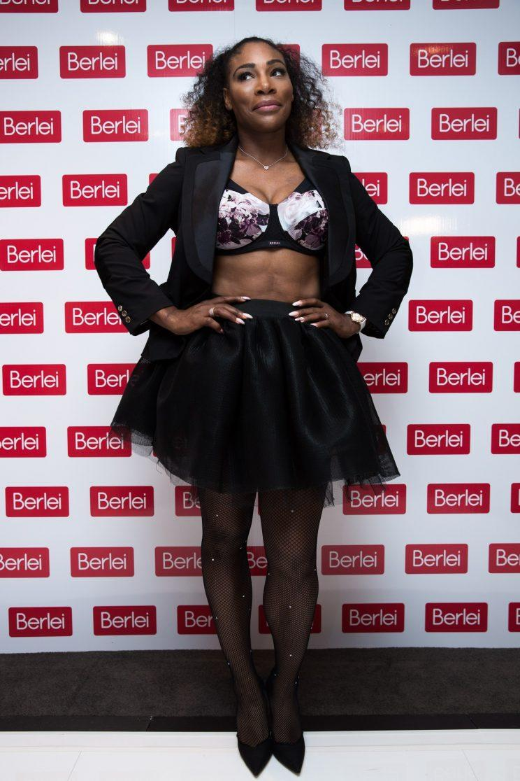 Serena Williams at the Berlei 'Do It for Yourself' event in Melbourne, Australia. (Photo: Getty Images)